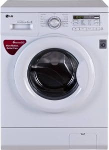 LG FH0B8NDL22 6 KG - Front Loading Automatic Washing Machine