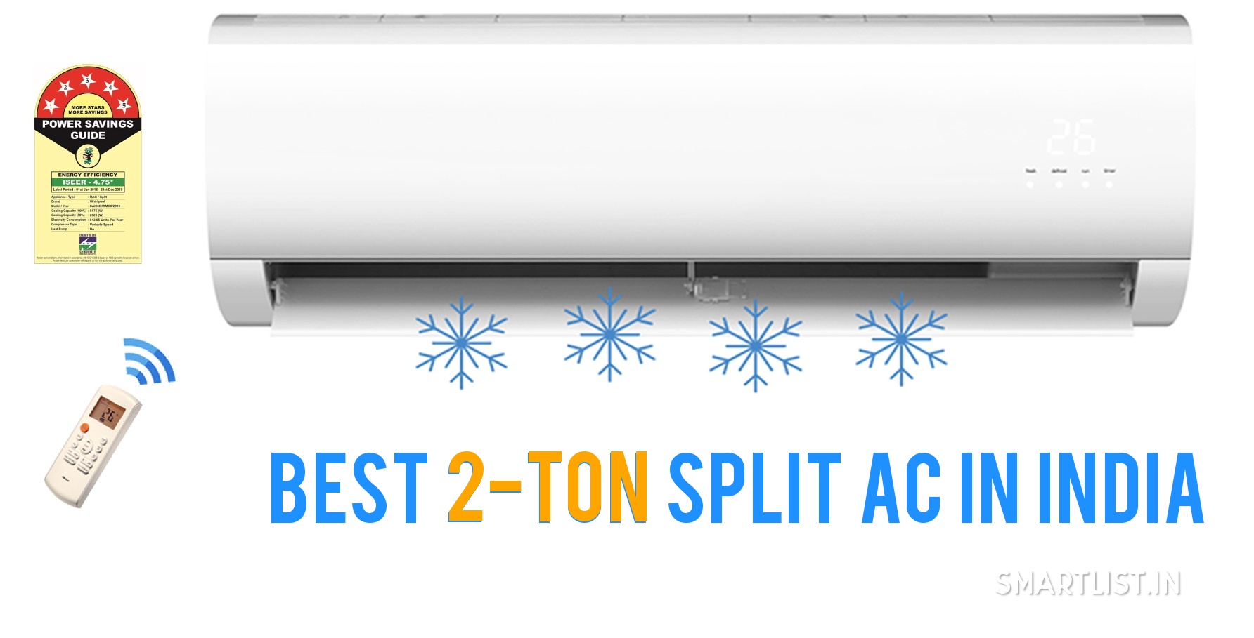 Best 2-Ton Split Air Conditioners in India | 2020 Expert Guide