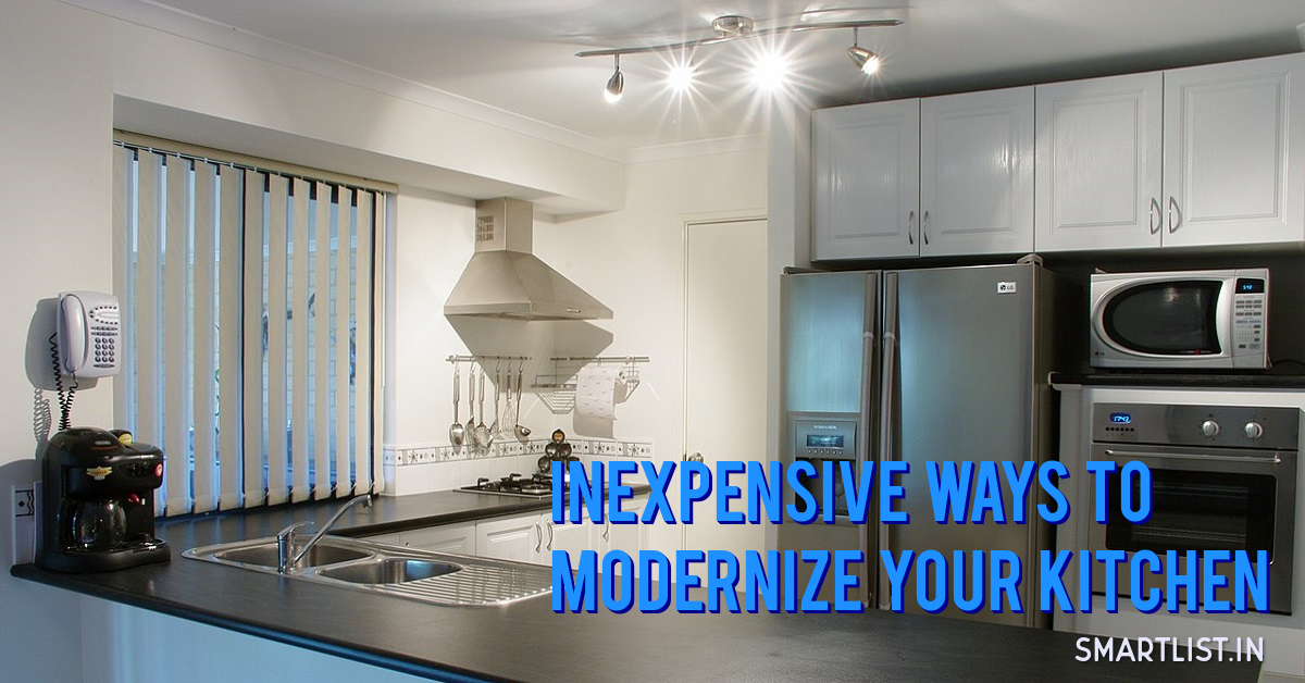 40 Easy and Inexpensive Ideas to Modernize Your Kitchen