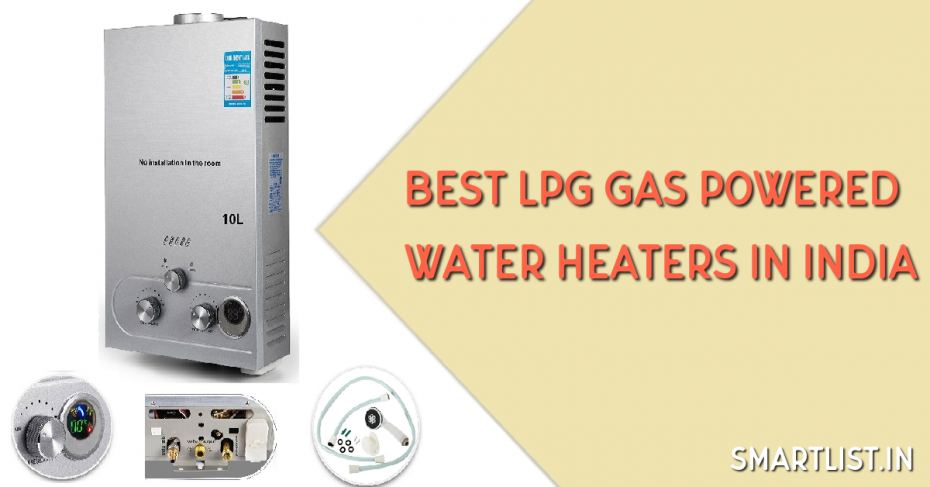 Instant LPG Gas Powered Water Heaters