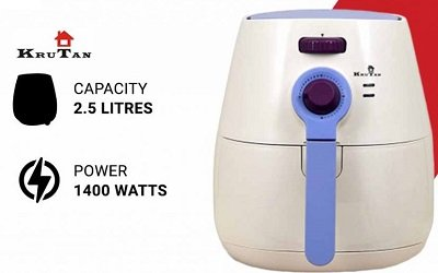 KRUTAN 1400-Watts Air Fryer