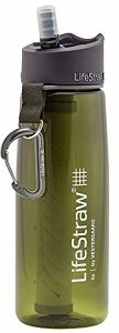 Lifestraw Water Bottle with 2 Stage Filtration