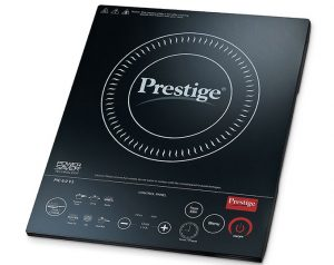 Prestige PIC 6.0 V3 2000-Watt Induction Cooktop with Touch Panel