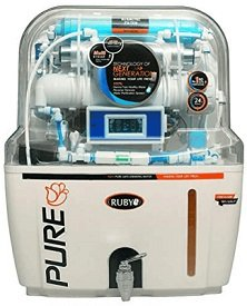 Ruby RO with Auto Flush and Display Water Purifier