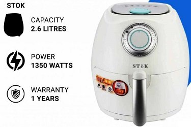 Stok 2.6-Litres 1350 Watts Air Fryer