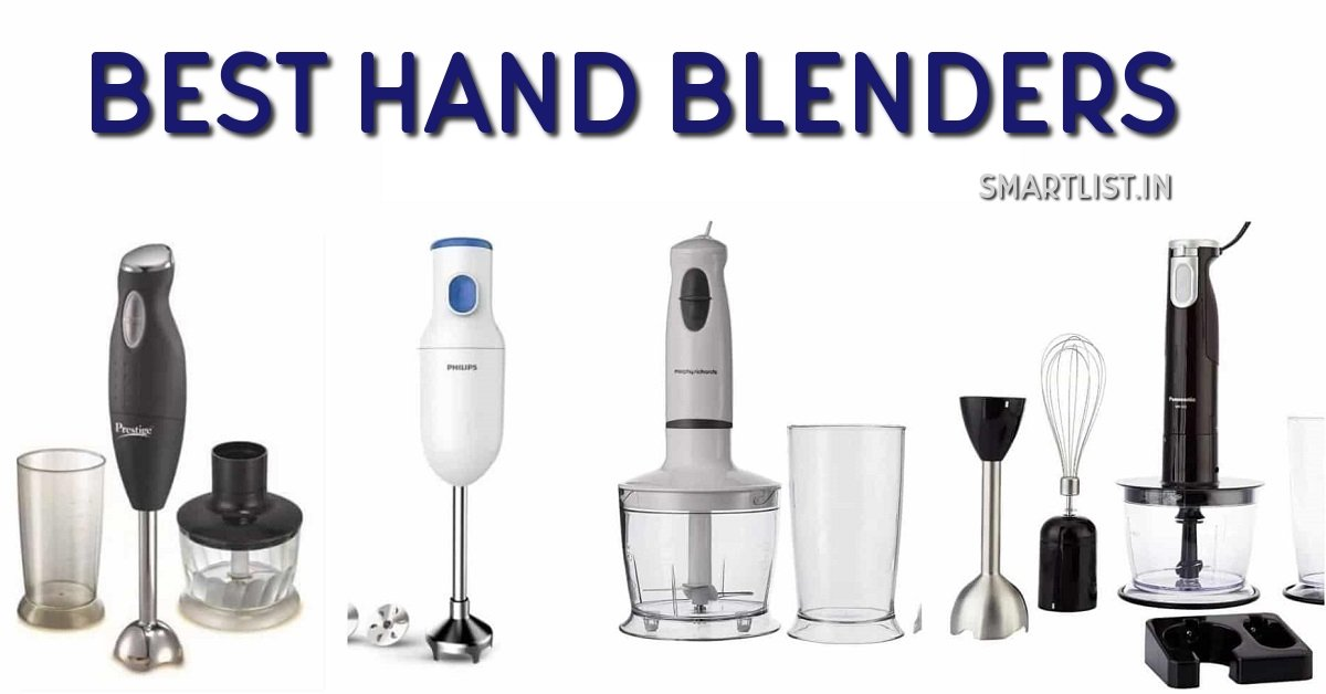 Best Hand Blenders Online for Indian Kitchen | 2020 Review