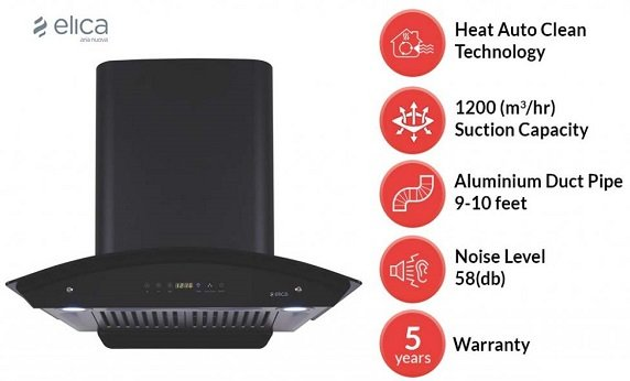 Elica Auto Clean Chimney – Best Seller