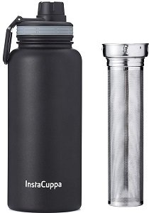 InstaCuppa Insulated Thermos Infuser Water Bottle