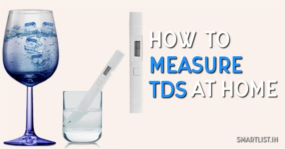 Measure TDS in Water at Home