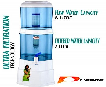 P-ZONE 15-Litres Gravity Based Non-electric Water Purifier
