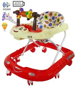 Panda Musical Baby Walker with Musical Tray