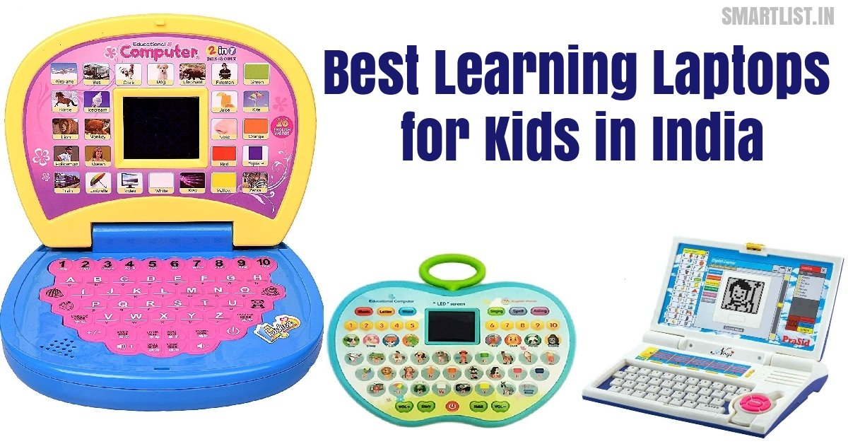 Best Learning Toy Laptops to Gift Your Kid | 2020 Review India