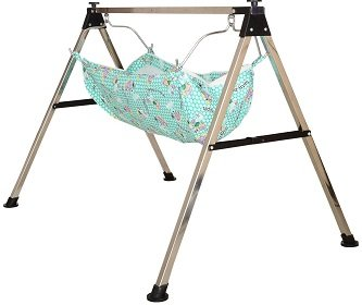 A To Z Hub Baby Portable Folding Swing Cradle