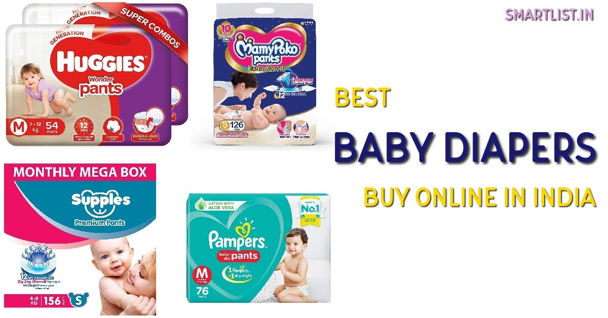 Best Baby Diapers to Buy Online in India | 2020 Review