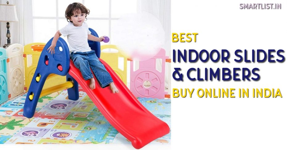Best Indoor Slides and Climbers for Kids in India