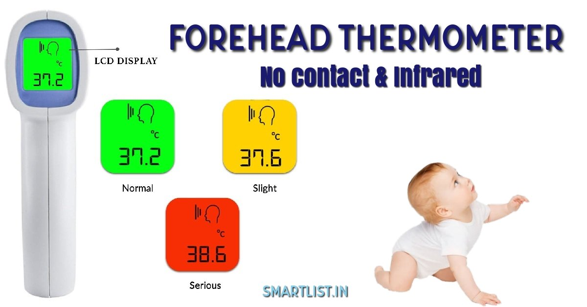 Best Forehead Thermometers for Babies and Adults in India   2020 Review