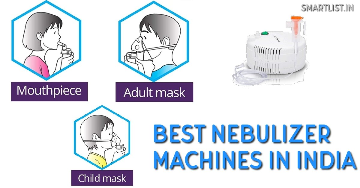Best Nebulizer Machines for Kids/Adults | 2020 Online Buying Guide