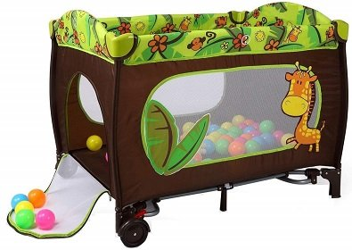 Dotmom Cobabies Smart Folding Portable Travel Baby Bed Convertible