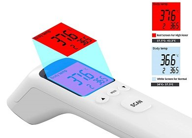 JSTOR Infrared Non-Contact Thermometer
