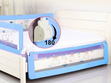 Kiddale Bedrail Foldable Safety Guard for Baby