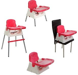 LuvLap 4 in 1 Booster High Chair