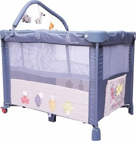 R For Rabbit Smart Folding Baby Cot/Crib