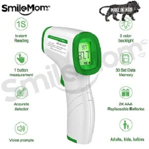 Smile Mom Digital Infrared Forehead Thermometer