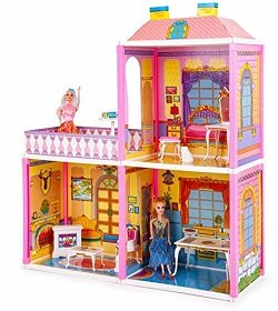 Toyzone My Pretty Doll House: Play Set for Girls