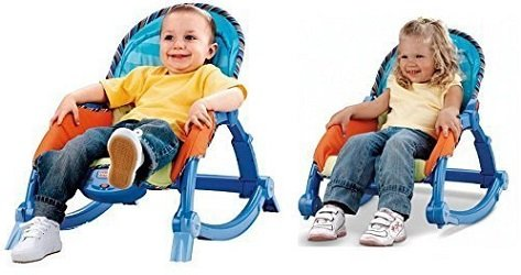 Webby New-born to Toddler Portable Rocker (Multi Color)