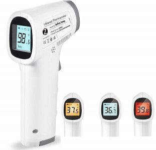 Zoook InfraTemp Forehead Non-Contact Infrared (IR) Thermometer