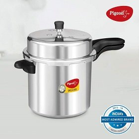 Pigeon by Stovekraft Deluxe Aluminum Pressure Cooker